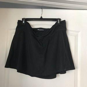 Pants - 2 black workout skorts (both XL)
